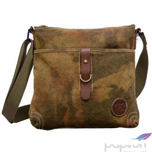 Oldaltáska Heavy Tools unisex EVIA Khaki keki női táska